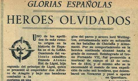 Artículo sobre el apellido Liñán en la Revista Semana (9 de mayo de 1950 - núm. 533) [3]