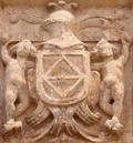 Escudo del apellido Liñán: Faja del linaje de Liñán inscrita en un rombo